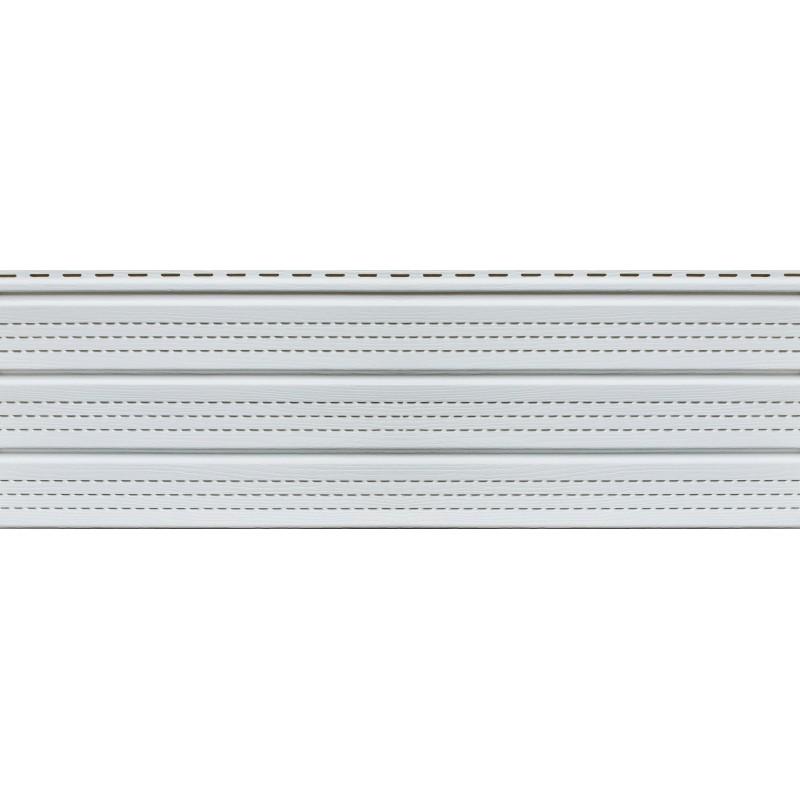 Софит белый с полной перфорацией Ю-пласт